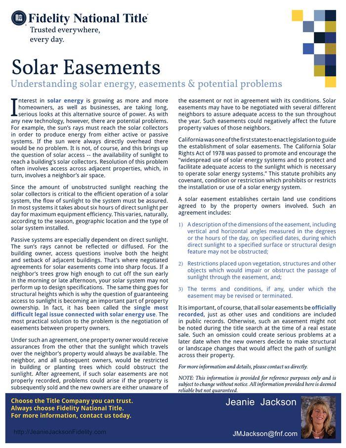 solareasements